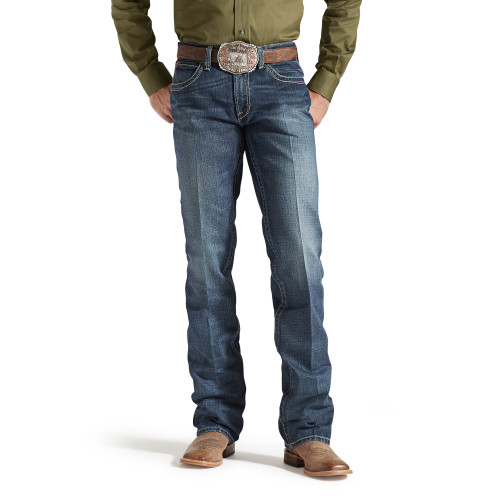 ARIAT M5 SLIM BOUNDARY STACKABLE - MENS JEANS   - 10014010