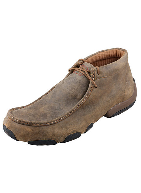 TWISTED X BROWN DRIVING MOCS - FOOTWEAR MEN'S   - MDM0003