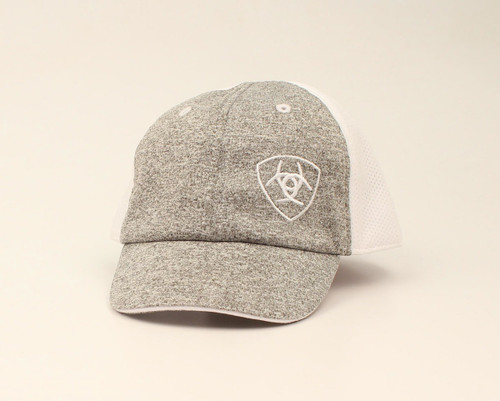 ARIAT INFANT BABY LOGO GREY WHITE - HATS CAP   - A300008206