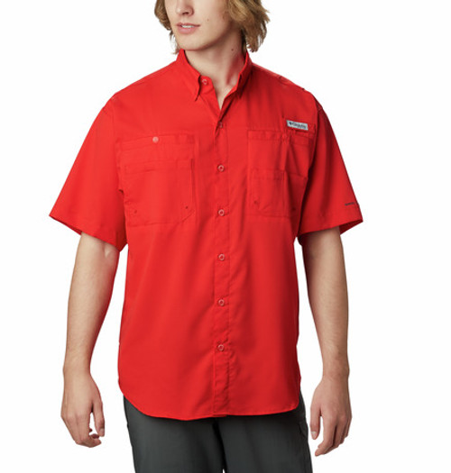 COLUMBIA TAMIAMI II SHIRT RED SPARK - MENS SHIRT   - 1287051696