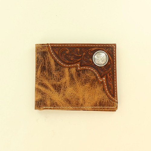 ARIAT DISTRESSED BIFOLD WALLET - ACCESSORIES WALLET   - A3532408