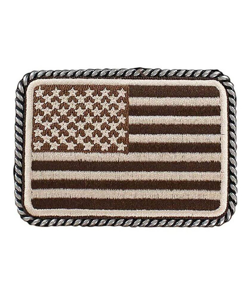 ARIAT USA FLAG PATCH BUCKLE - ACC BUCKLE   - A37010