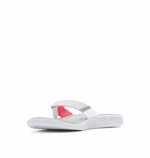COLUMBIA ROSTRA™ PFG GREY ICE RED CORAL - FOOTWEAR LADIES   - 1852591063
