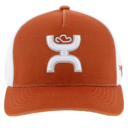 HOOEY TEXAS LONGORNS ORANGE FLEX FIT - HATS CAP   - 7010ORWH