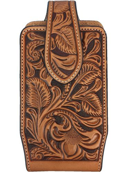 NOCONA FLORAL TOOLED CELL PHONE CASE - ACCESSORIES OTHER   - 0689108