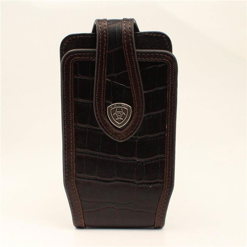 ARIAT CROC PRINT CELL PHONE CASE - ACCESSORIES OTHER   - A0600302