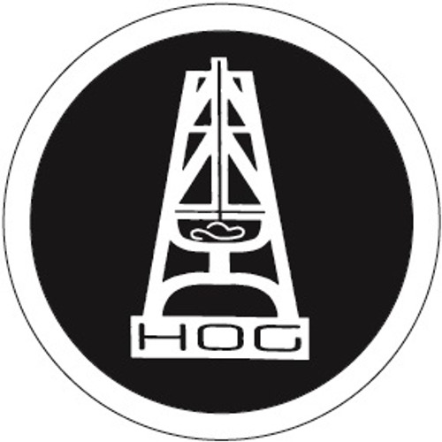 HOOEY HOG WHITE BLACK STICKER - ACCESSORIES OTHER   - ST3001WHBK