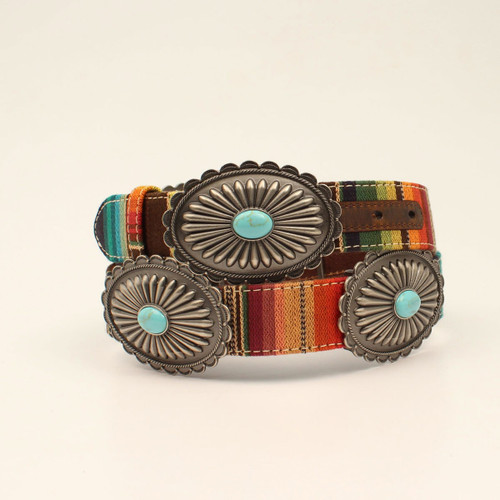 ARIAT SERAPE TURQUOISE STONE BELT - ACCESSORIES BELT LADIES - A1530797