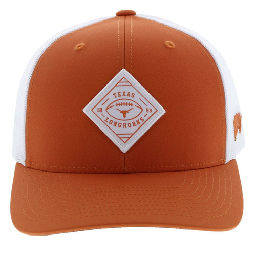 HOOEY UNIVERSITY OF TEXAS UT DIAMOND - HATS CAP   - 7014T-ORWH