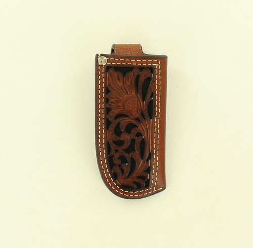 NOCONA FLORAL PIERCED  KNIFE SHEATH - ACCESSORIES OTHER   - 1804601