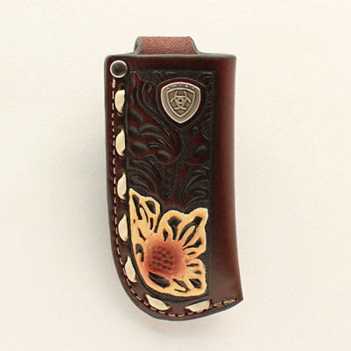 ARIAT FLORAL PAINTED KNIFE SHEATH - ACC KNIVES   - A1801008