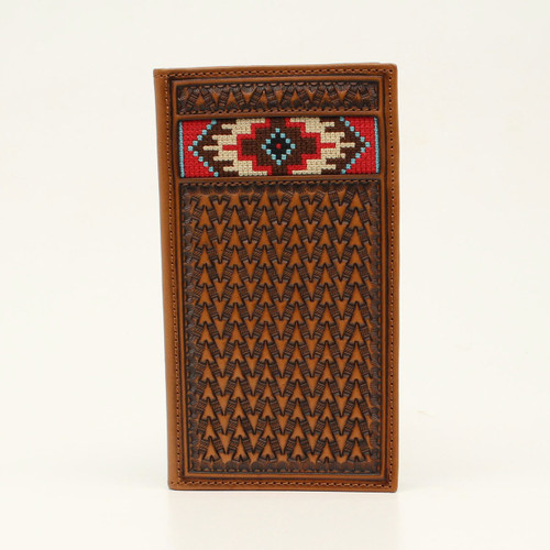 ARIAT SOUTHWESTERN EMBROIDERED INLAY - ACCESSORIES WALLET   - A3543408