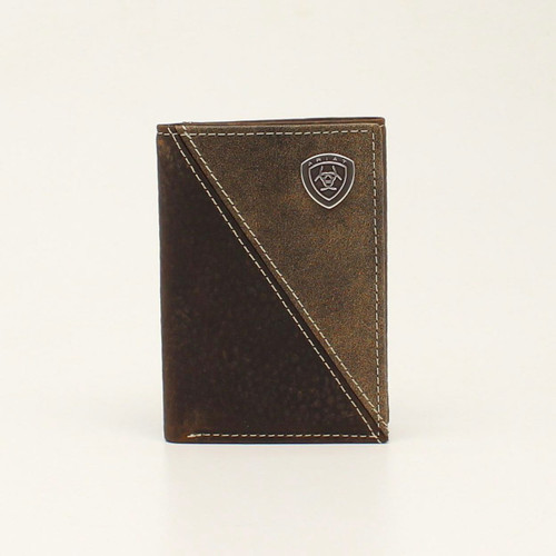 ARIAT TRIFOLD DIAGONAL SHIELD - ACCESSORIES WALLET   - A3544602