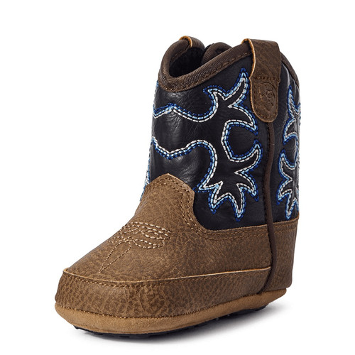 ARIAT INFANT BOOTS BLACK BROWN - FOOTWEAR KIDS   - A442000144