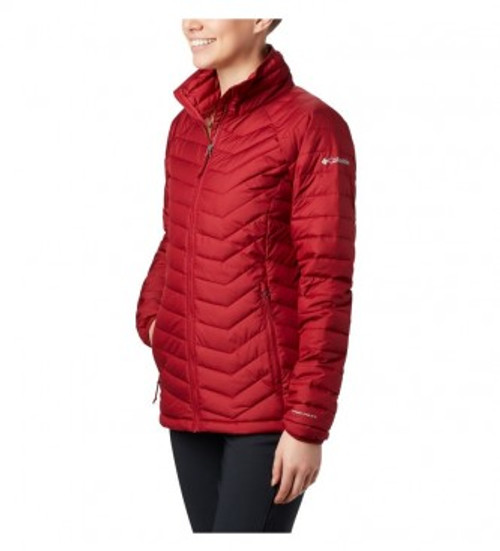 COLUMBIA POWDER LITE BEET RED - LADIES JACKET   - 1699061607
