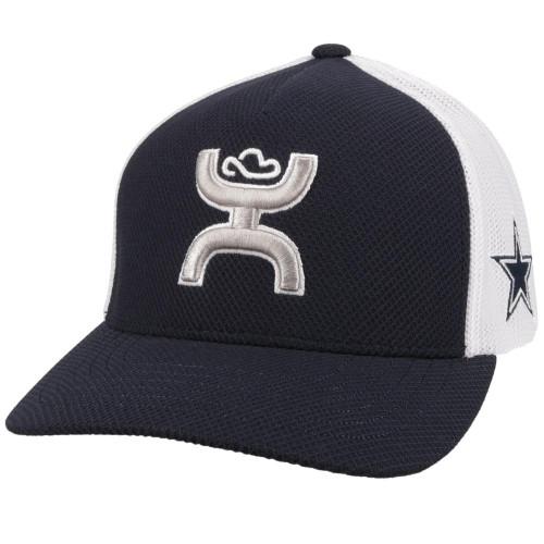 HOOEY DALLAS COWBOYS NAVY WHITE FLEX - HATS CAP   - 7082NVWH