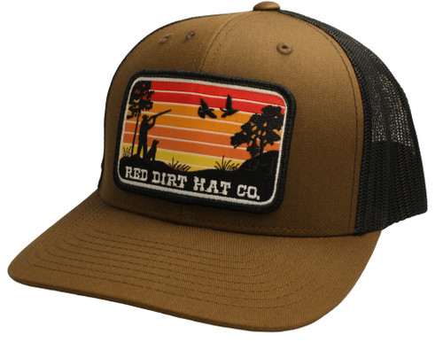 RED DIRT FLIGHT CANCELED-COYOTE BROWN - HATS CAP   - RDHC149