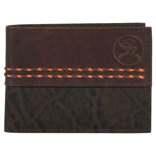 HOOEY LEATHER ROUGHY EMBOSSED - ACCESSORIES WALLET   - 2043161W6