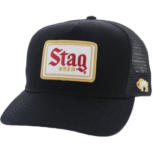 HOOEY BLACK STAG BEER - HATS CAP   - 9710T-BK