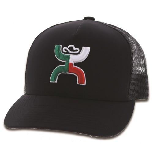HOOEY MEXICO BOQUILLAS BLACK - HATS CAP   - 1909T-BK