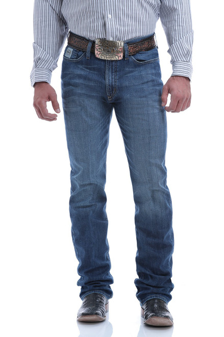 CINCH SILVER LABEL MEDIUM STONE - MENS JEANS   - MB98034014