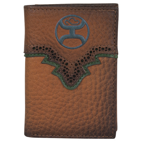 HOOEY TRIFOLD RUSSET & GREEN - ACCESSORIES WALLET   - 1989322W3