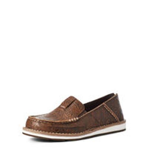 ARIAT CRUISER BROWN FLORAL EMBOSS - FOOTWEAR LADIES   - 10035831
