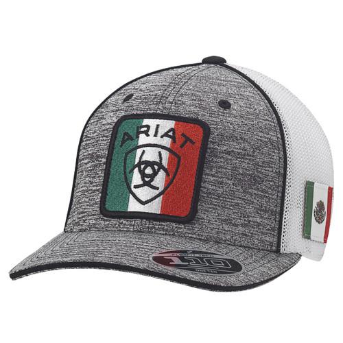 ARIAT MEXICAN FLAG LOGO GREY - HATS CAP   - A300015106
