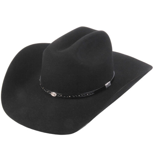 RESISTOL MAYHILL BLACK - HAT FELTS   - RFMYHL-724207