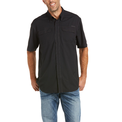 ARIAT VENTTEK OUTBOUND BLACK FISHING - MENS SHIRT   - 10035388