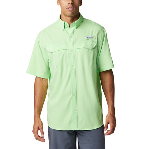 COLUMBIA LOWDRAG OFFSHORE LIME GLOW - MENS SHIRT   - 1540071398