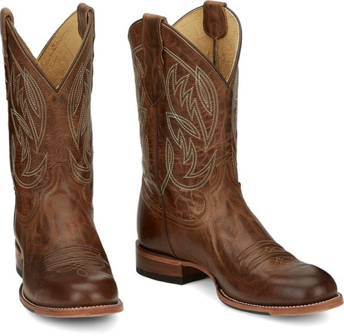 JUSTIN  PEARSALL GEORGE STRAIT BROWN - BOOT MENS WESTERN - GR8006