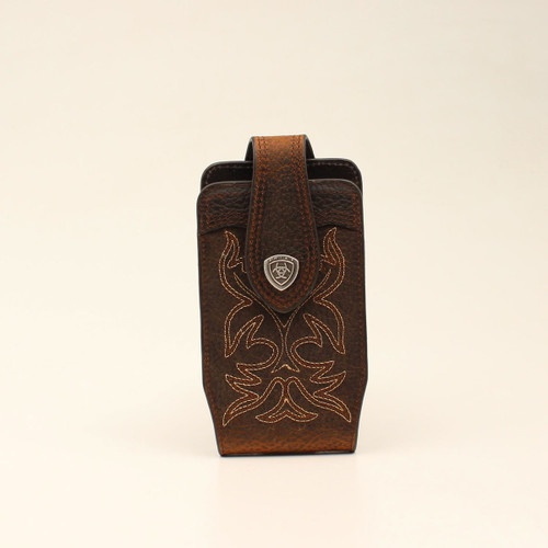 ARIAT CELL CASE BOOT STITCHED BROWN - ACCESSORIES OTHER   - A0602344