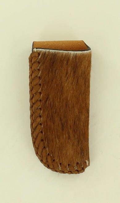 NOCONA CALF HAIR LEATHER KNIFE SHEATH - ACC KNIVES   - 1803608