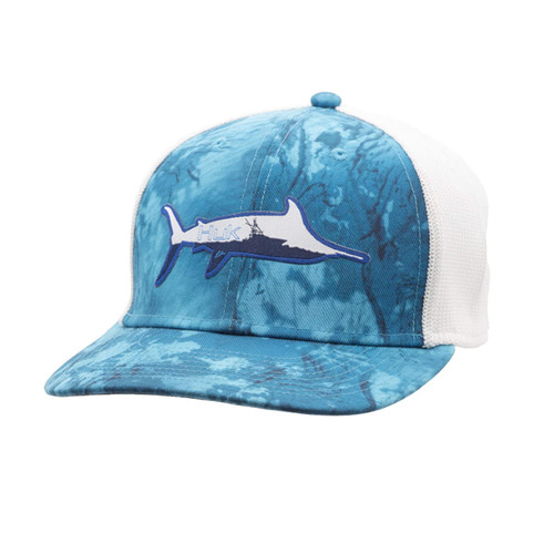 HUK TRUCKER STRETCH MARLIN SPORTY - HATS CAP   - H3000174-455