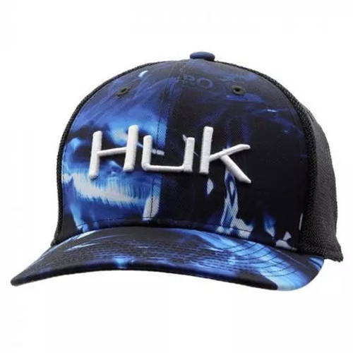 HUK CAMO TRUCKER STRETCH - HATS CAP   - H3000186-468