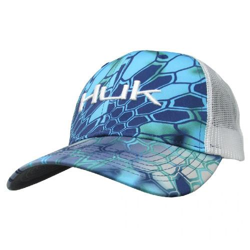 HUK HUK KRYPTEK LOGO TRUCKER CAP - HATS CAP   - H3000149-480-1
