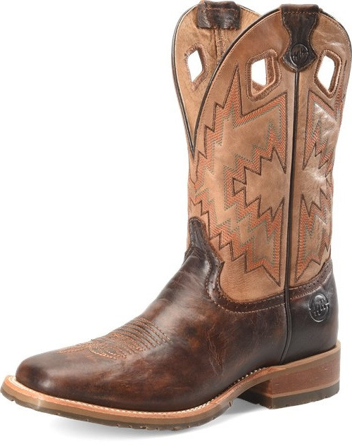 DOUBLE H BISON NAVAJO HONEY WINSTON - BOOT MENS WESTERN - DH7023