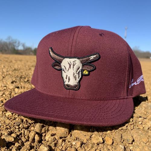 LANE FROST MAROON BULL WAMPUS - HATS CAP   - WAMPUS CAT