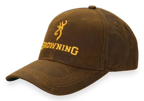 BROWNING DURA WAX SOLID BROWN - HATS CAP   - 3084121
