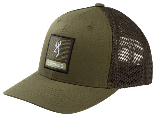 BROWNING PROWLER LODEN SQUARE PATCH - HATS CAP   - 308256641