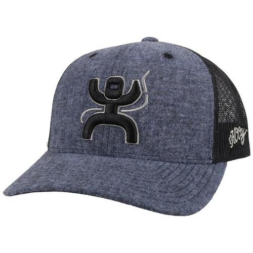 HOOEY ARC BLUE BLACK WELDER - HATS CAP   - 2121T-BLBK