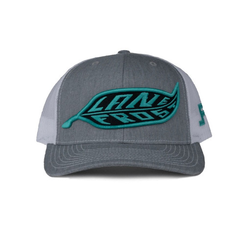 LANE FROST FEATHER LOGO HEATHER GREY - HATS CAP   - DRIVE