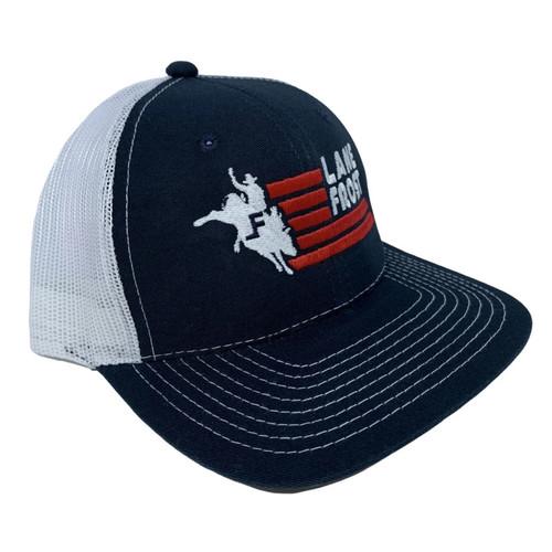 LANE FROST LOGO  BULLRIDER - HATS CAP   - LUCKY