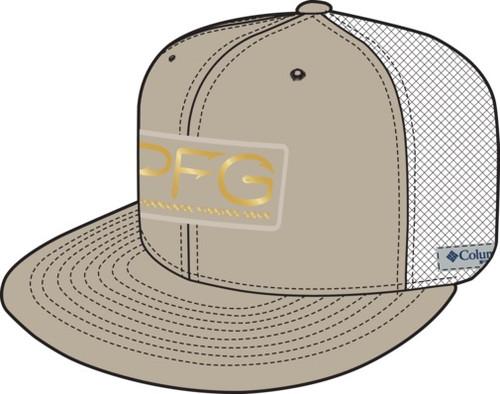 COLUMBIA FOSSIL PFG MESH HOOKS GOLD - HATS CAP   - 1585951160