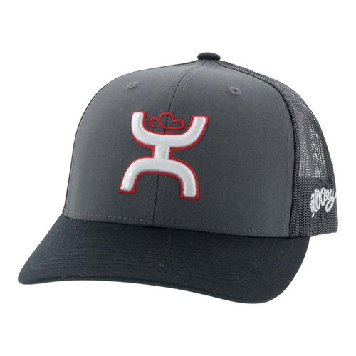 HOOEY STERLING CHARCOAL BLACK - HATS CAP   - 2006T-CHBK