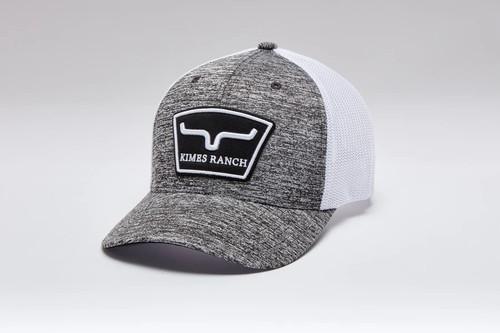 KIMES RANCH HARDBALL HEATHER GREY - HATS CAP   - HARDBALL TRUCKER HEATHER