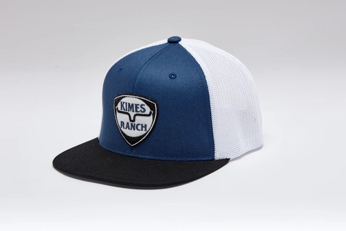 KIMES RANCH ON POINT BLUE - HATS CAP   - ON POINT BLUE
