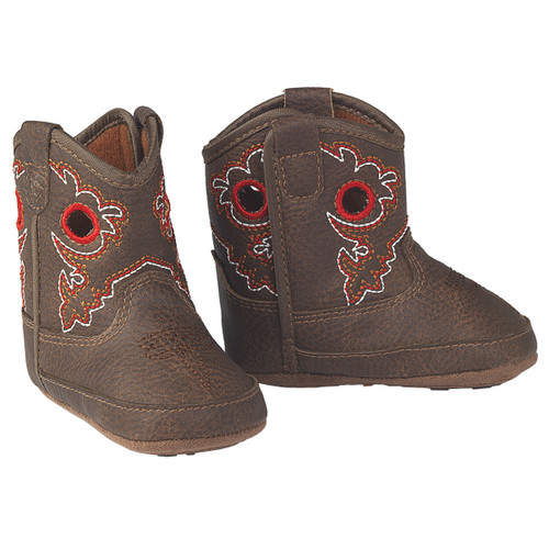 ARIAT ROUGH STOCK INFANT BOOTS BROWN - BOOT KIDS BOYS - A442001602