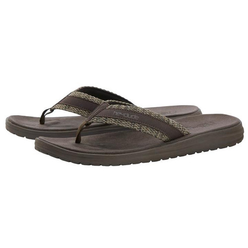 HEY DUDE SAMI SOX BROWN SANDALS - FOOTWEAR MEN'S   - 150171515